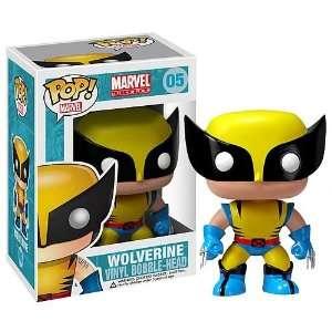 Wolverine Pop Heroes   Marvel Universe   Vinyl Figure Toys & Games