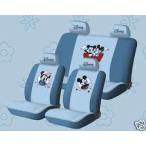 New Mickey Mouse Universal Car Seat Cover   10pcs Full Set