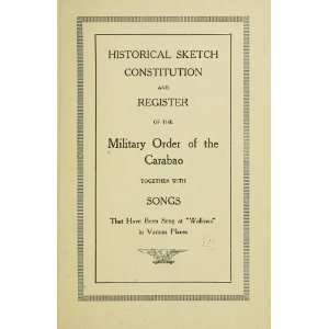 At Wallows In Various Places Military Order Of The Carabao Books