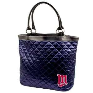 MLB Minnesota Twins Quilted Tote