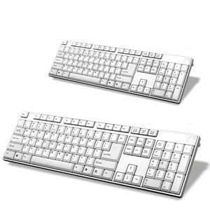 USB Fashion Ultra Thin Multimedia Wired Keyboard FOR HP