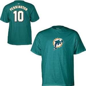 Pennington Miami Dolphins Teal NFL Player T Shirt