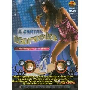 A Cantar Karaoke   Musica Para Planchar Spanish DVD