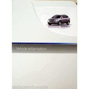 Chevrolet Traverse 2LT Vehicle Information Packet