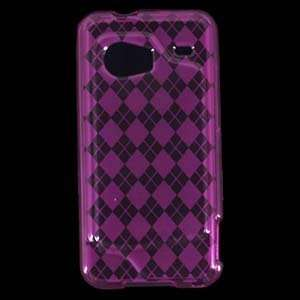 Hot Pink Crystal Gel Protector for HTC Droid Incredible