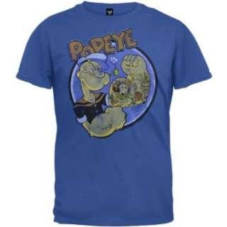 Popeye   Tattoos T Shirt Clothing