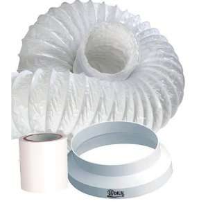 HDIUK 3m Portable Air conditioner Exhaust duct hose extension kit