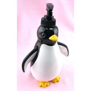 PENGUIN SOAP DISPENSER lotion pump bathroom Home decor