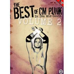 Best of CM Punk in IWA Mid South Wrestling Volume Two DVD