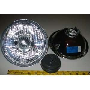 Hella 7 Round E Code H4 Halogen Replacement Headlight Kit
