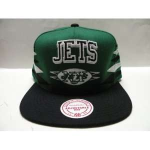 Mitchell and Ness NFL New York Jets Diamond 2 Tone Snapback Cap