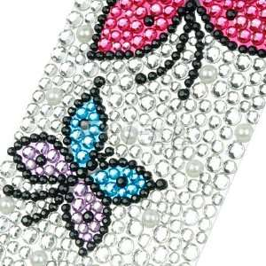 Ecell   BUTTERFLY RHINESTONES CRYSTAL PHONE BLING 3D