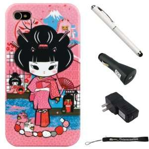 Pink Rocker Mayumi Girl 2pc Hard Case Protective Cover
