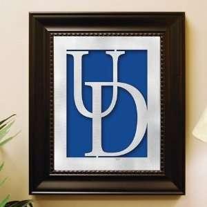 Delaware Framed Laser Cut Logo Wall Art