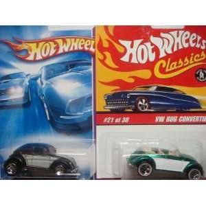 Hot Wheels Volkswagen Beetle Variant Set: Classics Series