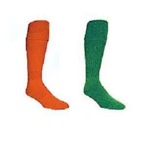 2 Pair Powersox Soccer Socks (Orange) Sz   Large(9 12