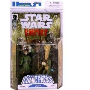 Star Wars Action Figure Comic 2 Pack Dark Horse Star Wars Empire #16