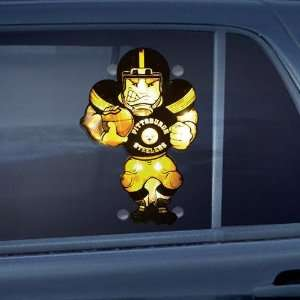 Pittsburgh Steelers Double Sided Car Window Light Up Player