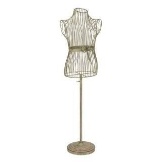 Metal Model Mannequin Tailors Dummy Display Cream