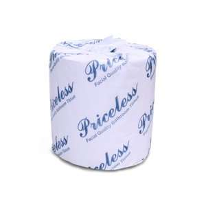 Priceless Toilet Tissue, 500 Sheets per Roll, 96 rolls per case, Sheet