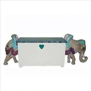 Signature Elephant Toy Chest Cutout Heart Toys & Games