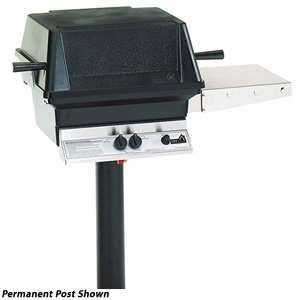 PGS Gas Grills A30 Cast Aluminum Natural Gas Grill On Stainless Steel