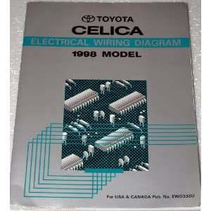 1992 Toyota Celica Electrical Wiring Diagrams (AT180, ST184, ST185
