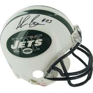 Shonn Greene Signed Jets Football Helmet Mini Sports Collectibles