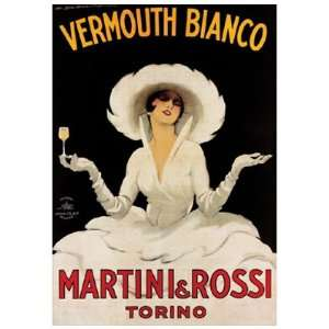 Vermouth Bianco   Poster by Marcello Dudovich (13 7/8 x 17 5/8