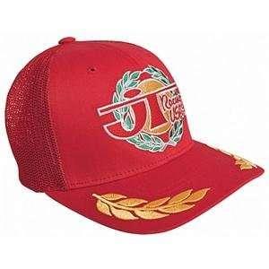 JT Racing Victory Trucker Hat   Small/Medium/Red