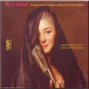 Mozart   Sonata Para Fortepiano Y Violin (I), Sonata Palatine K. 301