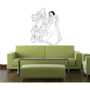 com SNOW WHITE DISNEY Wall MURAL Vinyl Decal Sticker Home & Kitchen