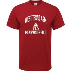 Red Youth Mens Water Polo Arch T Shirt  Sports & Outdoors