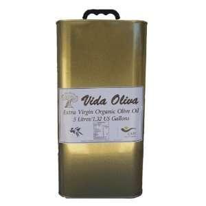 Vida Oliva Organic Extra Virgin Picual Olive Oil 5L