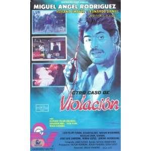 Otro Caso De Violacion [VHS] Miguel Angel Rodriguez