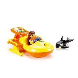 Go Diego Go Animal Rescue Boat Toys & Games