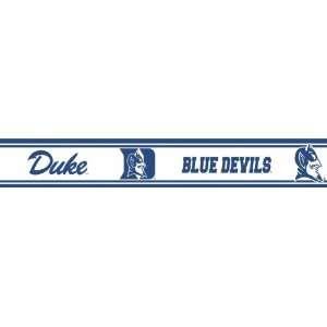 RBP DUKE Duke Blue Devils Licensed Peel N Stick Border Toys & Games