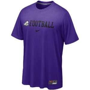 Nike TCU Horned Frogs Purple University Legend Dri FIT