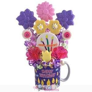 Birthday Wishes Lollipop Bouquet: Kitchen & Dining