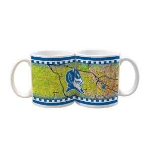 NCAA Duke Blue Devils 2 Pack 11oz White Road To Mug