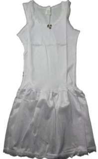 Girls Cotton Nylon Full Slip: Clothing