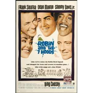 Robin and he 7 Hoods 1964 Original U.S. One Shee Poser