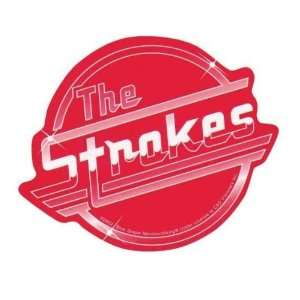 Strokes   Classic Logo   Red Decal: Automotive
