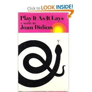 Play It As It Lays (9780374234447) Joan Didion Books