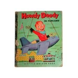 HOWDY DOODY IN FUNLAND  LITTLE GOLDEN BOOK NO. 172: Edward