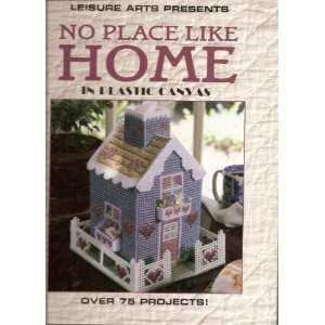 No place like home in plastic canvas (Plastic canvas
