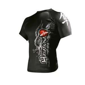 Hayabusa Mizuchi Rashguard Short Sleeve: Sports & Outdoors