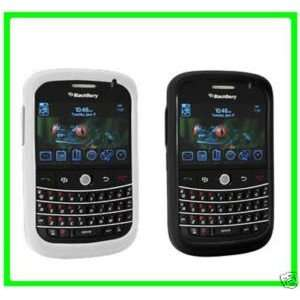 2 PACK FOR BLACKBERRY BOLD BLACK AND CLEAR CASE