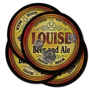 Louise Beer and Ale Coaster Set:  Kitchen & Dining