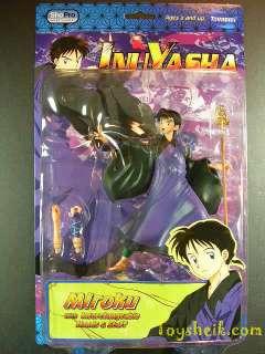 Inuyasha 3 MIROKU action figure 2005 new